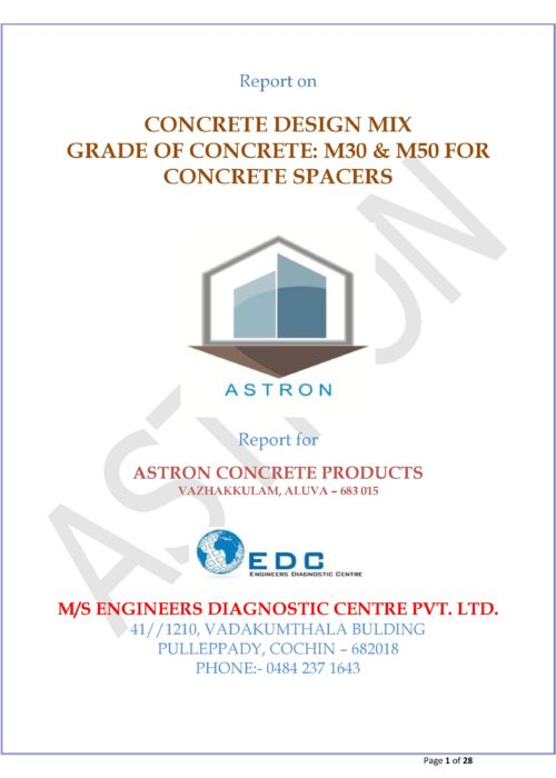 concrete spacers in India